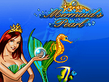 Автомат Mermaid's Pearl с бонусом