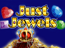 Играть в автомат Just Jewels в казино Вулкан на деньги