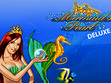 Играть в Вулкане на деньги в автомат Mermaid's Pearl Deluxe